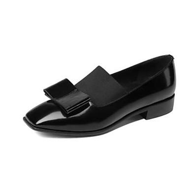 Femme Mocassins Automne 06848779 Bas Nappa rond Chaussons D6148 Cuir et Bout Talon Noir Chaussures Vin Confort 1rSq1HB