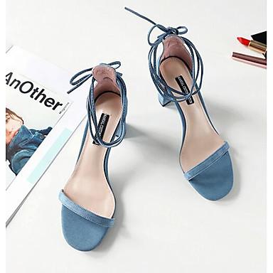 Bleu Eté Confort Bottier Rose Sandales Noir mouton de Peau Chaussures Talon 06858821 Femme qvfCwx6BIq