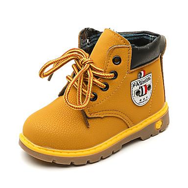 82f63be3d3a0fd Garçon Chaussures Faux Cuir / Polyuréthane Printemps & Automne / Printemps  été Confort / boîtes de