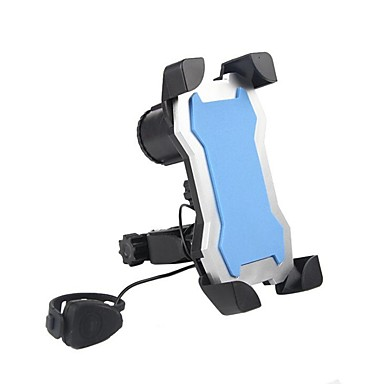 billige Sykkeltilbehør-Telefonstativ til sykkel alarm Verktøyholder Mobiltelefon til Vei Sykkel Fjellsykkel Foldesykkel Plast iPhone X iPhone XS iPhone XR Sykling Svart Blå Rosa 1 pcs