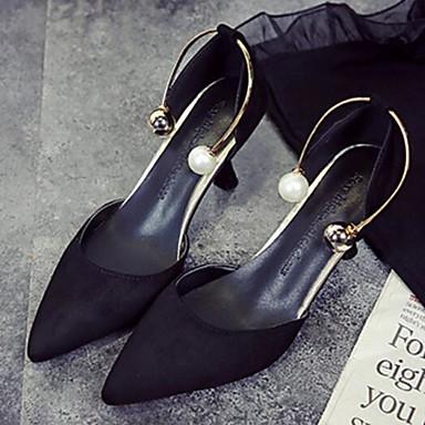 06870007 Chaussures Rose Talon Talons confort Femme Printemps Noir Beige Aiguille Chaussures à Automne de Polyuréthane amp; HU6SqC