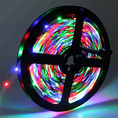 hkv® ip20 300led 5m rgb smd 3528 светодиодные ленты гибкая диодная лента 12v светодиодные ленты светодиодные ленты для дома гибкие светодиодные полосы