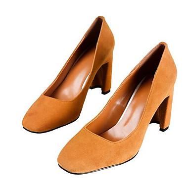 Arc ciel à 06863729 Chaussures Noir Talons Chaussures Bottier Daim en Printemps Escarpin Basique Talon Femme Chameau wpPOSqH