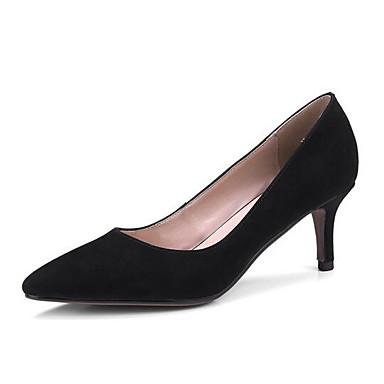 Negro Ante 06862252 Tacones Confort Mujer Tacón Marrón Zapatos Rosa Bajo Primavera Ow0xH5HUqg
