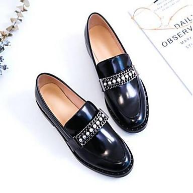 Confort Cuir Chaussures Eté Femme Printemps fermé 06841135 Mocassins Noir et Bout Plat Nappa Chaussons Talon D6148 xXqwwdp5