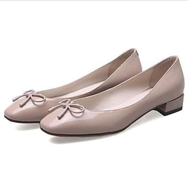 Bottier Rouge Confort Bout Amande Eté Cuir Ballerines Nappa fermé Talon 06841589 Bleu Femme Printemps Chaussures xTgwPBnq8