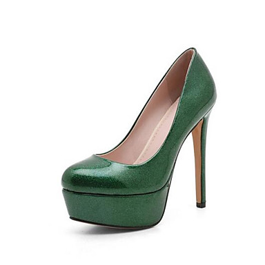 Chaussures Talon 06846200 Rouge Vert à Printemps Polyuréthane Talons Noir Chaussures Confort Femme Aiguille Uxq0wHdU