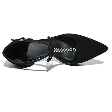 Talons Talon Femme Nappa Chaussures fermé à Confort Chaussures Eté Noir 06848784 hétérotypique Cuir Bout 88qrwUp0