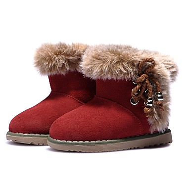 a86b8334bc05 Girls' Shoes Suede Winter Snow Boots Boots Tassel for Toddler(9m-4ys) Red /  Booties / Ankle Boots / Leopard / Rubber
