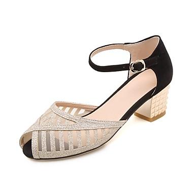 Femme Eté Talon Noir Confort Chaussures Bottier Sandales Daim 06857323 Beige 1UqEwxr1