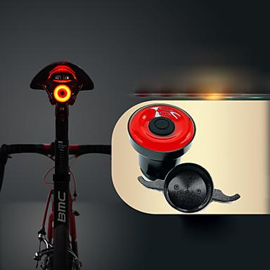 LED Eclairage de Velo Eclairage de Vélo Arrière ECLAIRAGE ARRIERE Cyclisme Imperméable Invisible Poids Léger Lithium-ion 50 lm USB Rouge Cyclisme