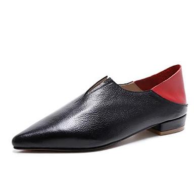 Mocassins Eté Cuir Chaussures Femme Printemps Noir D6148 Talon et Bout Chaussons Nappa Blanc fermé Confort Plat 06848350 IYqYxwH