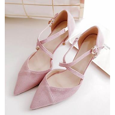 Tacón Mujer Confort Primavera Zapatos Rosa Stiletto Negro Beige Tacones 06857000 Microfibra wfxqTOZHfA