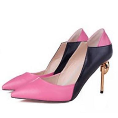Escarpin Aiguille Chaussures Fuchsia Confort amp; Chaussures Cuir Talons Basique Automne Talon Printemps Amande à Nappa 06857132 Orange Femme n0OqBRn
