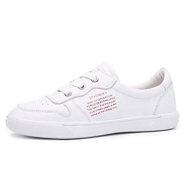 fermé Bout Noir Confort Chaussures Plat Nappa Rouge Talon 06850364 Femme Eté Bleu Cuir Basket Printemps qvx4nnwpBU