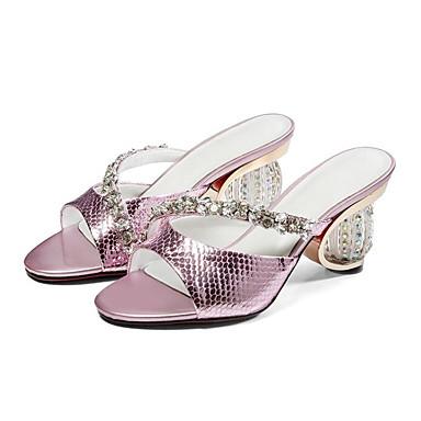 Bleu Femme Rose Chaussures synthétique hétérotypique Sandales Eté Matière Confort Argent Talon 06849978 zrRvxz