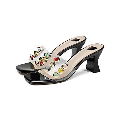 Chaussures Confort Femme Talon Sandales 06849999 Printemps été Bottier Noir Rouge Polyuréthane IdwHBw