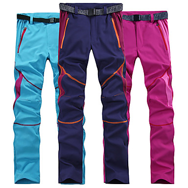 Women's Hiking Pants Outdoor Lightweight UV Resistant Fast Dry Bottoms Hiking Camping Pink Grey Burgundy L XL XXL / Stretchy / Quick Dry / Quick Dry