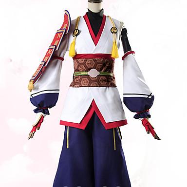 Inspirado por Fate / zero Archer / Tomoe Gozen Animé Disfraces de cosplay Trajes Cosplay Flores / Botánica Chaqueta / Pantalones / Más Accesorios Para Mujer