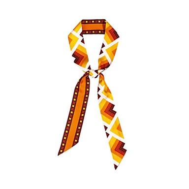 Ambizioso Seta Sciarpa - Fiocco Per Donna Quotidiano Arancione #06939683 Delizie Amate Da Tutti