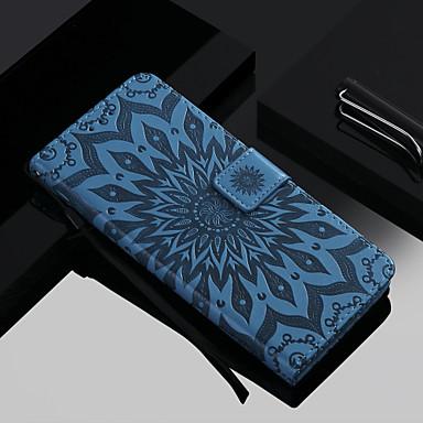 hesapli iPhone Kılıfları-Pouzdro Uyumluluk Apple iPhone XS / iPhone XR / iPhone XS Max Cüzdan / Kart Tutucu / Satandlı Tam Kaplama Kılıf Çiçek Sert PU Deri