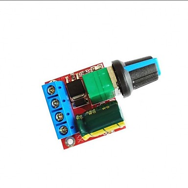 DC 5v-35v 5a 20 khz led pwm controlador do motor controlador de velocidade interruptor regulador dimmer com led indicador