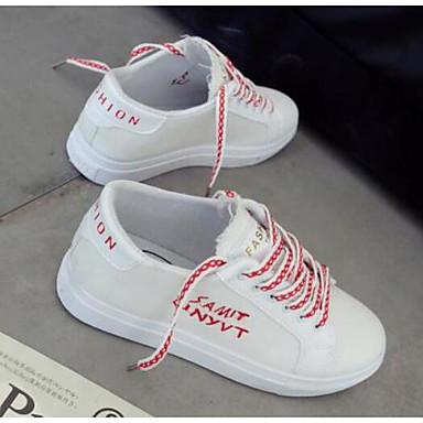 e961a003d7e Γυναικεία Παπούτσια άνεσης Πανί Καλοκαίρι Αθλητικά Παπούτσια Επίπεδο  Τακούνι Μαύρο / Κόκκινο / Μπλε