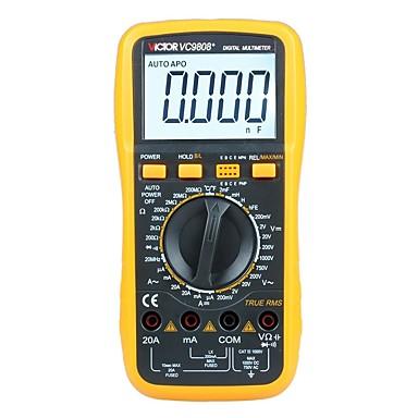 voordelige Test-, meet- & inspectieapparatuur-victor vc9808 + digitale inductor multimeter met frequentietemperatuur