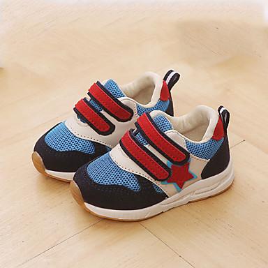 5d02a5580 Chico   Chica Zapatos PU Otoño invierno Confort Zapatillas de deporte Cierre  Autoadherente para Niños   Bebé Verde   Azul   Rosa