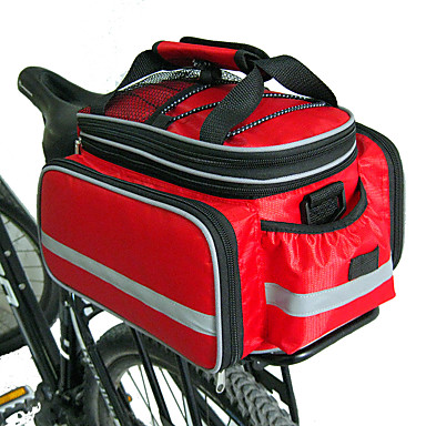 FJQXZ Bolsa Maletero / Bolsa Lateral Bolsas Maletero Gran Capacidad Impermeable Tamaño Ajustable Bolsa para Bicicleta Nailon Bolsa para Bicicleta Bolsa de Ciclismo Ciclismo / Bicicleta