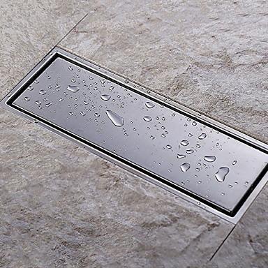 ท่อ ดีไซน์มาใหม่ / Creative ที่ทันสมัย Stainless Steel / Iron 1pc ท่อระบายน้ำ ติดพื้น