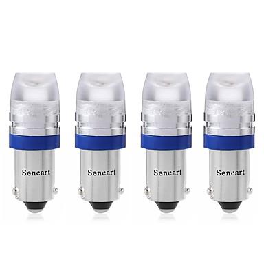 SENCART 4pcs T10 / BA9S Motor / Automatisch Lampen 1 W COB 120 lm 1 LED Richtingaanwijzerlicht / Motor / Interior Lights Voor