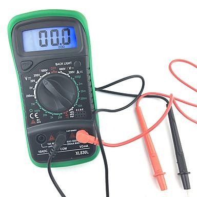 voordelige Test-, meet- & inspectieapparatuur-1 pcs Kunststoffen Digitale multimeter / Infrarood thermometer Meten / Pro XL830L