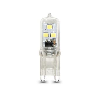 billige Elpærer-1pc 1 W LED-lamper med G-sokkel 100 lm G9 T 6 LED perler SMD 2835 Mulighet for demping Varm hvit Kjølig hvit 220 V