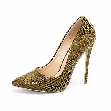 c603b70b6ce6 Women's Pumps Synthetics Fall & Winter Business Heels Stiletto Heel Pointed  Toe Sequin Red / Green / Blue / Wedding / Party & Evening / Color Block #  ...