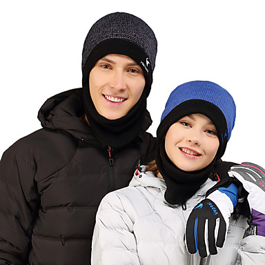 152c99ba VEPEAL Hiking Cap Skull Cap Beanie Windproof Warm Thick Patchwork Fashion  Acrylic Fleece Autumn / Fall