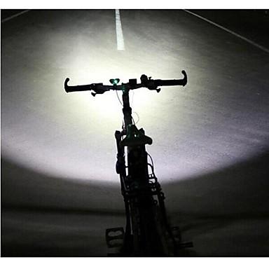 abordables Lampes & Lanternes de Camping-LS070 Lampes Frontales Eclairage de Vélo / bicyclette Phare Avant de Moto Cree® XM-L U2 2 Émetteurs 5000/2500 lm avec Chargeur Imperméable Résistant aux impacts Rechargeable Camping / Randonnée