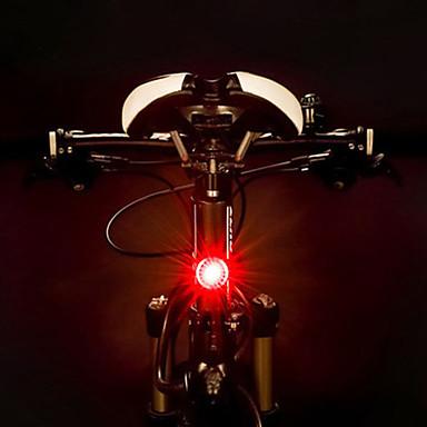 LED Eclairage de Velo Eclairage de Vélo Arrière Eclairage sécurité vélo / Ecarteur de danger ECLAIRAGE ARRIERE VTT Vélo tout terrain Cyclisme Imperméable Portable Largage rapide Batterie rechargeable