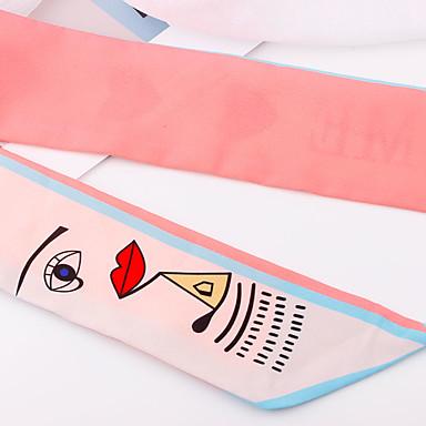 abordables Foulards de Soirée-Mousseline de soie Sport & Loisir / Quotidien Ceinture Avec Couleur Unie / Fantaisie Femme Ceintures