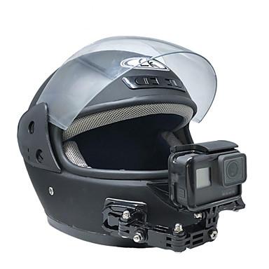 abordables Appareils Photos de Sports & Accessoires GoPro-Supports Anti-Secousse Vissez-le 1 pcs Pour Caméra d'action Gopro 6 Gopro 5 Gopro 4 Black Cyclisme sur Route Moto Ski de fond Acier inox + ABS
