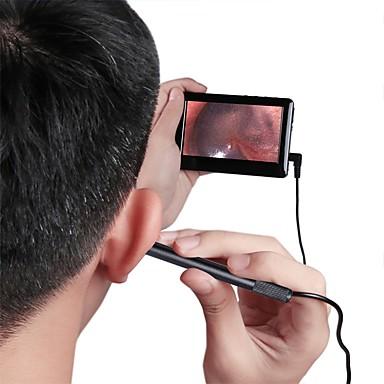 voordelige Microscopen & Endoscopen-4.3 redd high-definition display fel licht oor kies oor neus en keel reiniging zorg oorreiniging oor endoscoop endoscoop