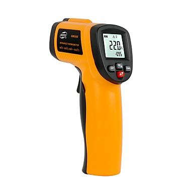 voordelige Test-, meet- & inspectieapparatuur-benetech gm550e digitale niet-contact ir infrarood thermometer laser sensortemperatuur meter 50 ~ 550c verstelbare 0.95 pyrometer