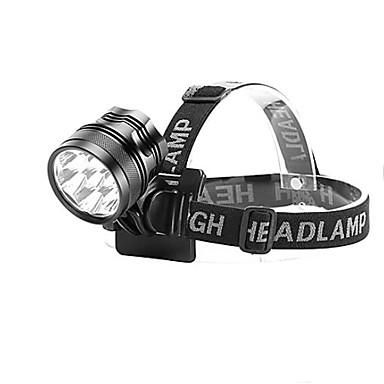 abordables Lampes & Lanternes de Camping-Lampes Frontales Phare Avant de Moto LED LED Émetteurs 10000 lm 1 Mode d'Eclairage Rechargeable Camping / Randonnée / Spéléologie Cyclisme Chasse