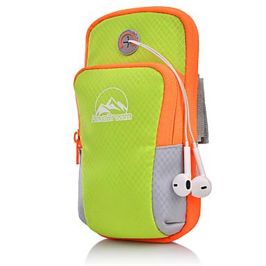 abordables Sacs-Unisexe Fermeture Tissu Oxford Mobile Bag Phone Rayé Noir / Orange / Rose Claire / Automne hiver