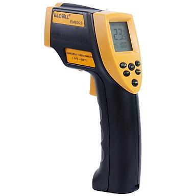 voordelige Test-, meet- & inspectieapparatuur-em800s infrarood thermometer industriële temperatuur pistool hoge temperatuur infrarood thermometer hoge precisie handheld thermometer 800 ° c