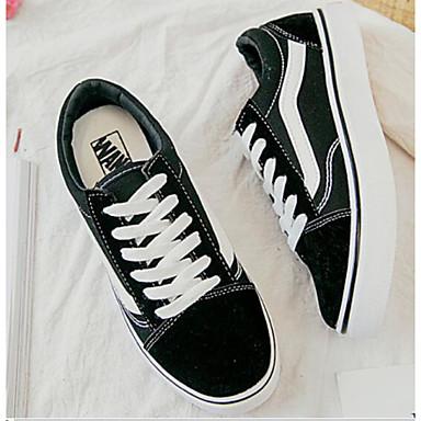 Appena Per Donna Scarpe Comfort Di Corda Primavera Sneakers Piatto Nero - Rosa E Bianco - Bianco - Nero #06958242