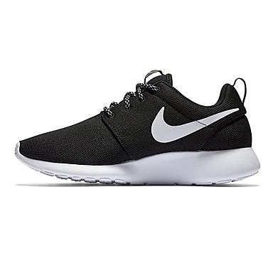 1f7239c841a NIKE Running Shoes Roshe one Men s Sneakers Black White 844994-002 ...