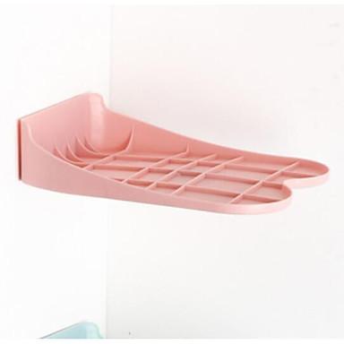 abordables Accessoires pour Chaussures-Cintre & Range Chaussures Plastique 1 paire Unisexe Bleu / Vert / Rose Claire