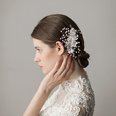 Čipka Kose za kosu s Cvjetni print 1 komad Vjenčanje / Zabava / večer Glava