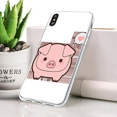 Θήκη Za Apple iPhone XS Ultra tanko / Uzorak Stražnja maska Životinja Mekano TPU